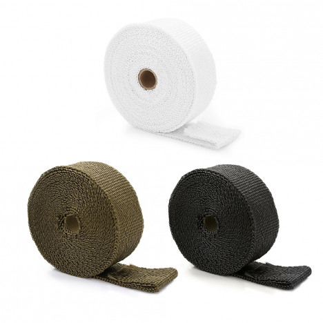 10M Auto Exhaust Tube Heat Wrap Tape for Car Motorcycle