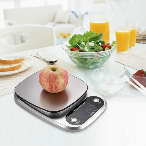 Electric 10kg / 1g Kitchen Digital Scale with LCD Display