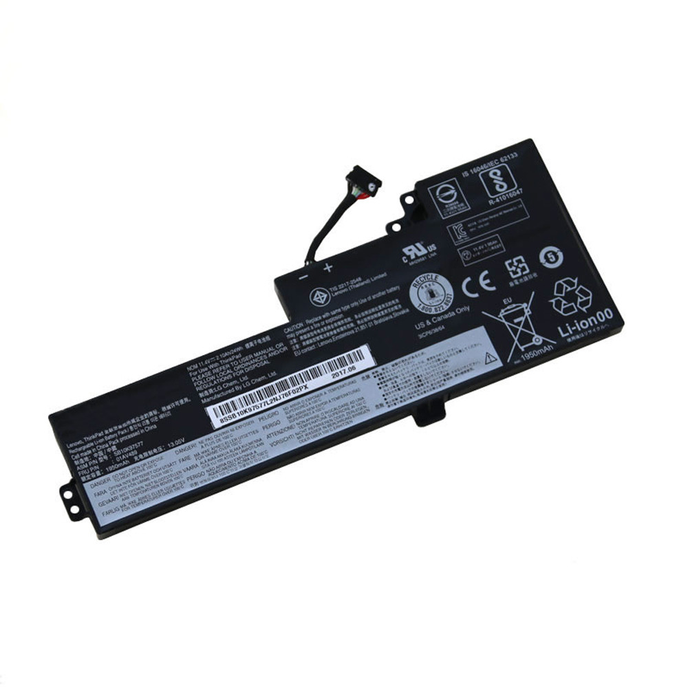 01AV419 Battery 2080mAh/24Wh 11.55V Pack for Lenovo ThinkPad T470