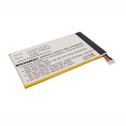 26S1001 58-000035 Battery 4000mah 3.7V Pack for Amazon Kindle Fire HD 7