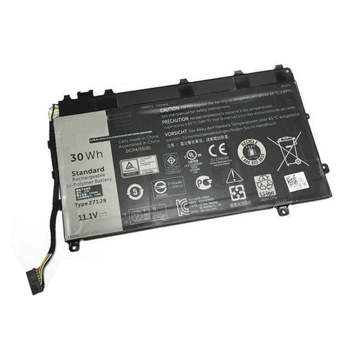 271J9 Battery 30WH 11.1V Pack for Dell Latitude 13 7000 Series