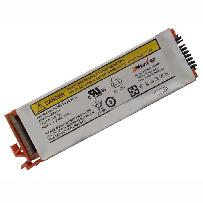 44V7597 Battery 2.4Ah 8.9Wh 3.7V Pack for IBM 44V7597 Brand New 74Y6124 74y5997 42r8705