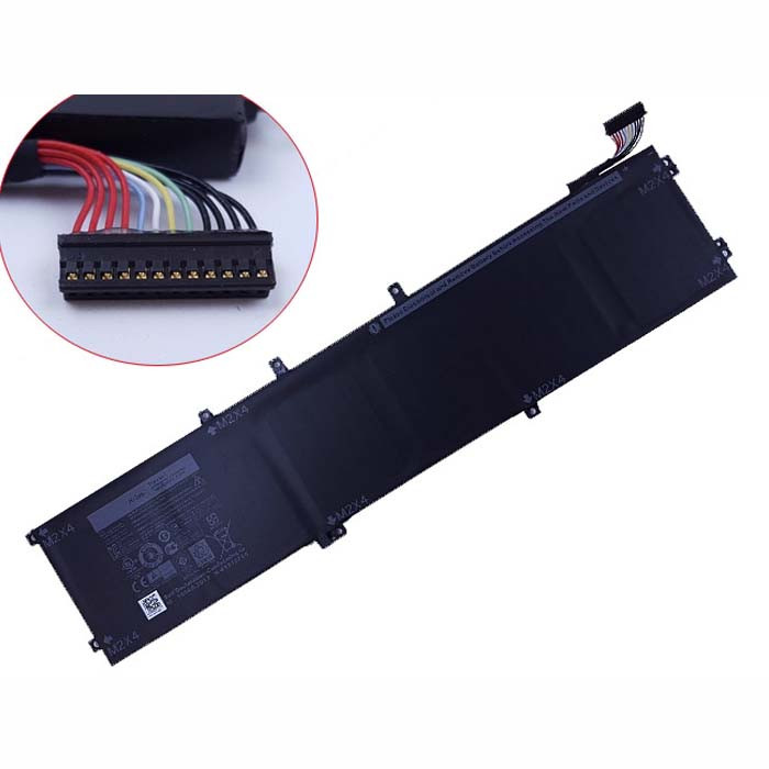4GVGH Battery 84Wh 11.4V Pack for DELL XPS 15 9550  4GVGH 1P6KD