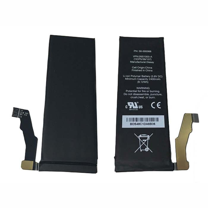 58-000068 Battery 2400mAh 3.8V Pack for Amazon Fire SD4930UR AT&T Phone 58-000068 26S1003-A SD4930