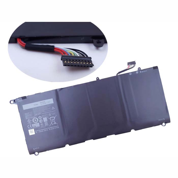 90V7W Battery 56wh 7.6V Pack for Dell XPS 13  5K9CP DIN02 JD25G