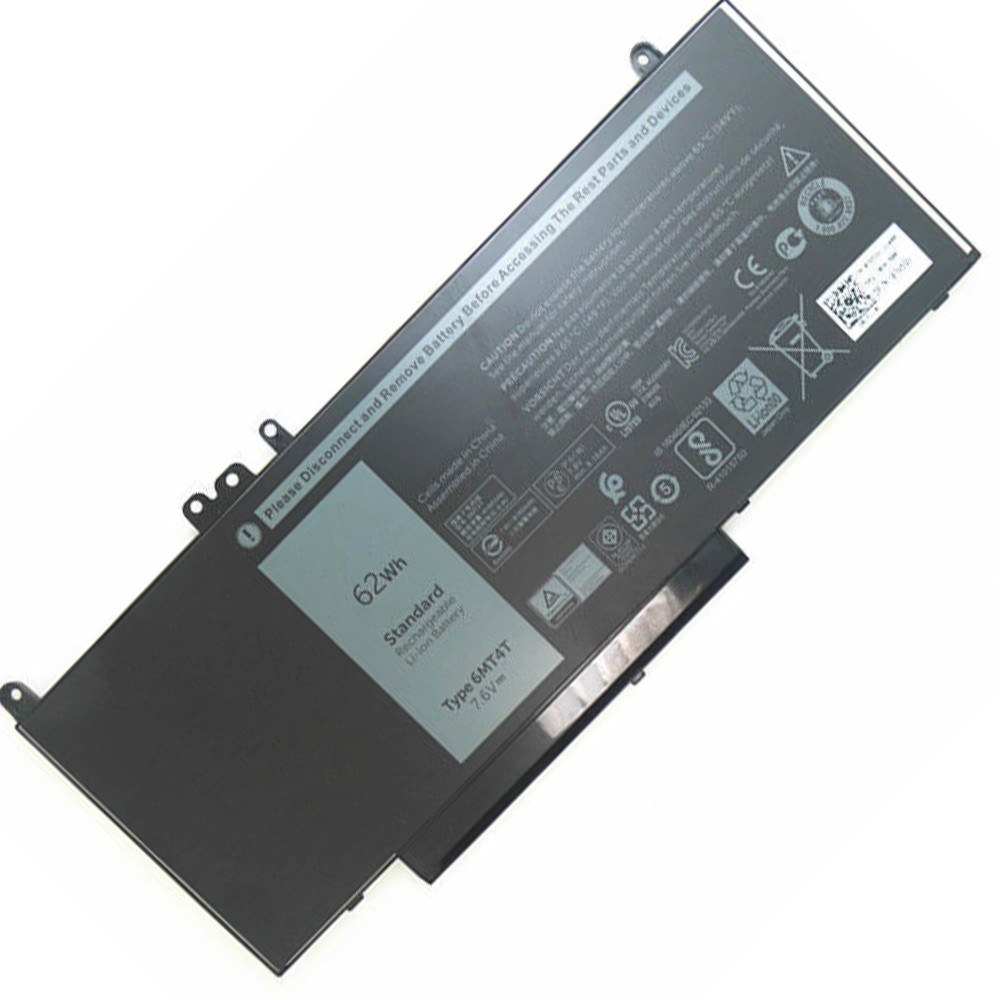 6MT4T Battery 62Wh 7.6V(compatible with 7.4V) Pack for Dell Latitude E5450 E5550 E5570 Notebook 15.6