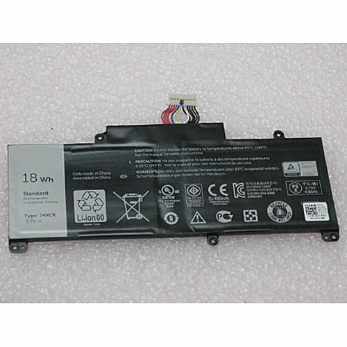 74XCR X1M2Y VXGP6 Battery 18WH 3.7V Pack for Dell Venue 8 Pro (5830) Tablet