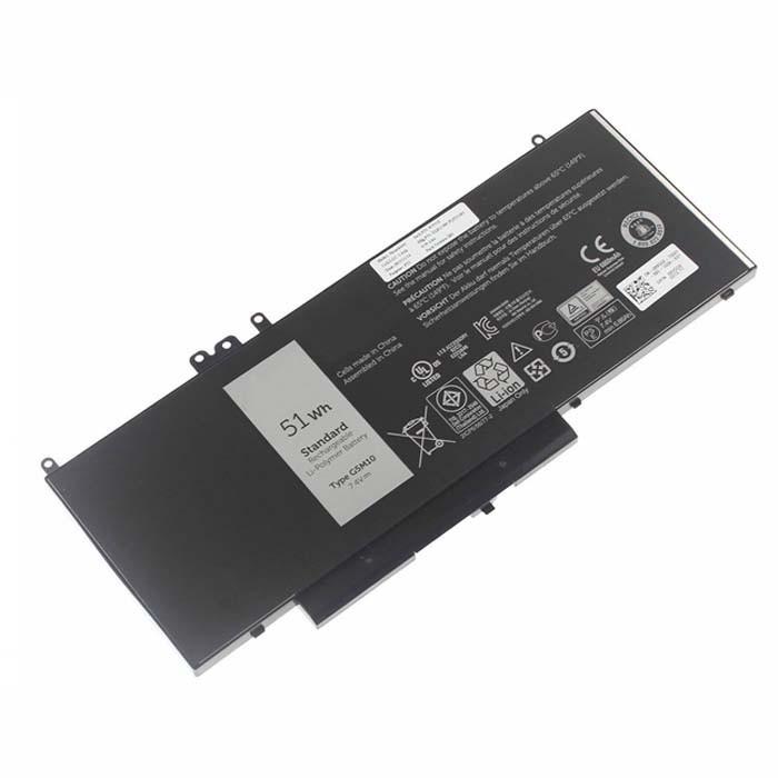 G5M10 8V5GX Battery 51Wh 7.4V Pack for Dell Latitude E5550 Notebook 15.6
