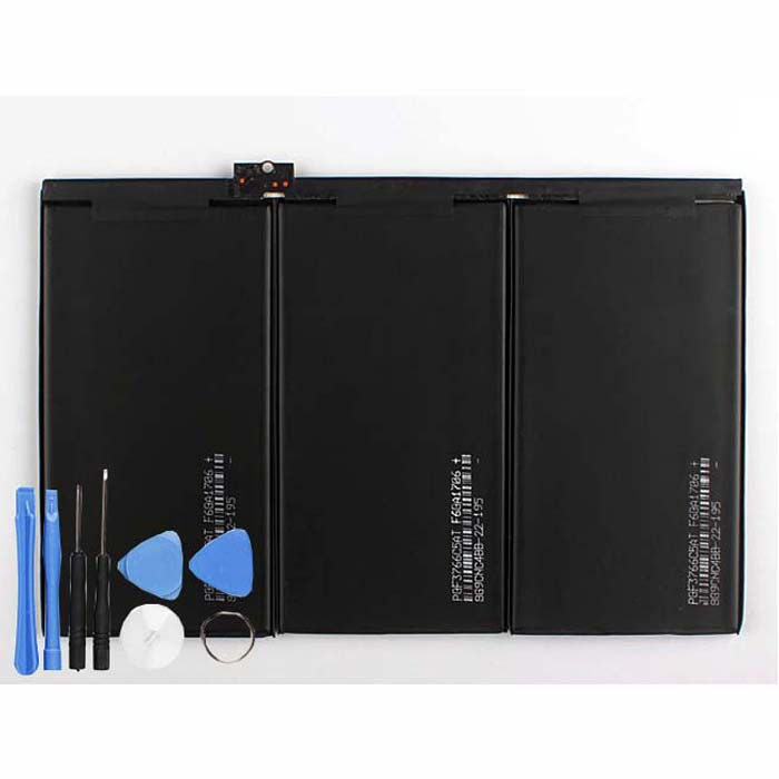 A1389 A1403 A1416 A1430 Battery 25Whr/11560mAh 3.7V Pack for  iPad3 ipad4 iPad 3 3rd ipad 4 11560mAh