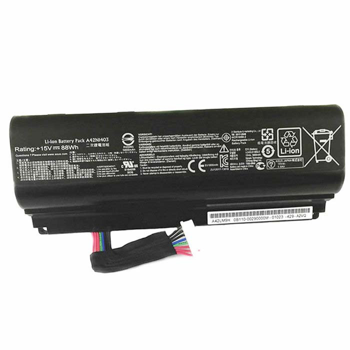 42N1403 Battery 88WH 15V Pack for ASUS A42LM93 G751J-BHI7T25 GFX71JY4710 88WH
