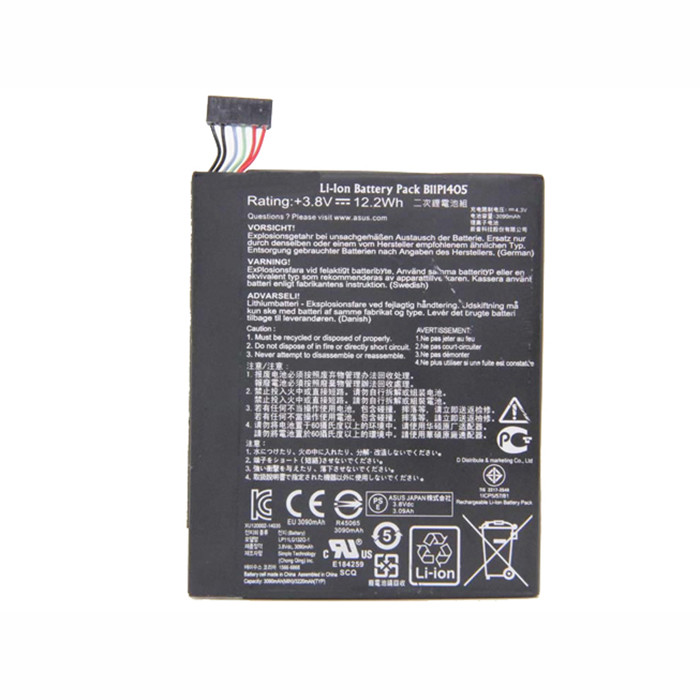 B11P1405 Battery 12.2Wh/3090mAh 3.8V Pack for Asus MeMO Pad 7 ME70CX