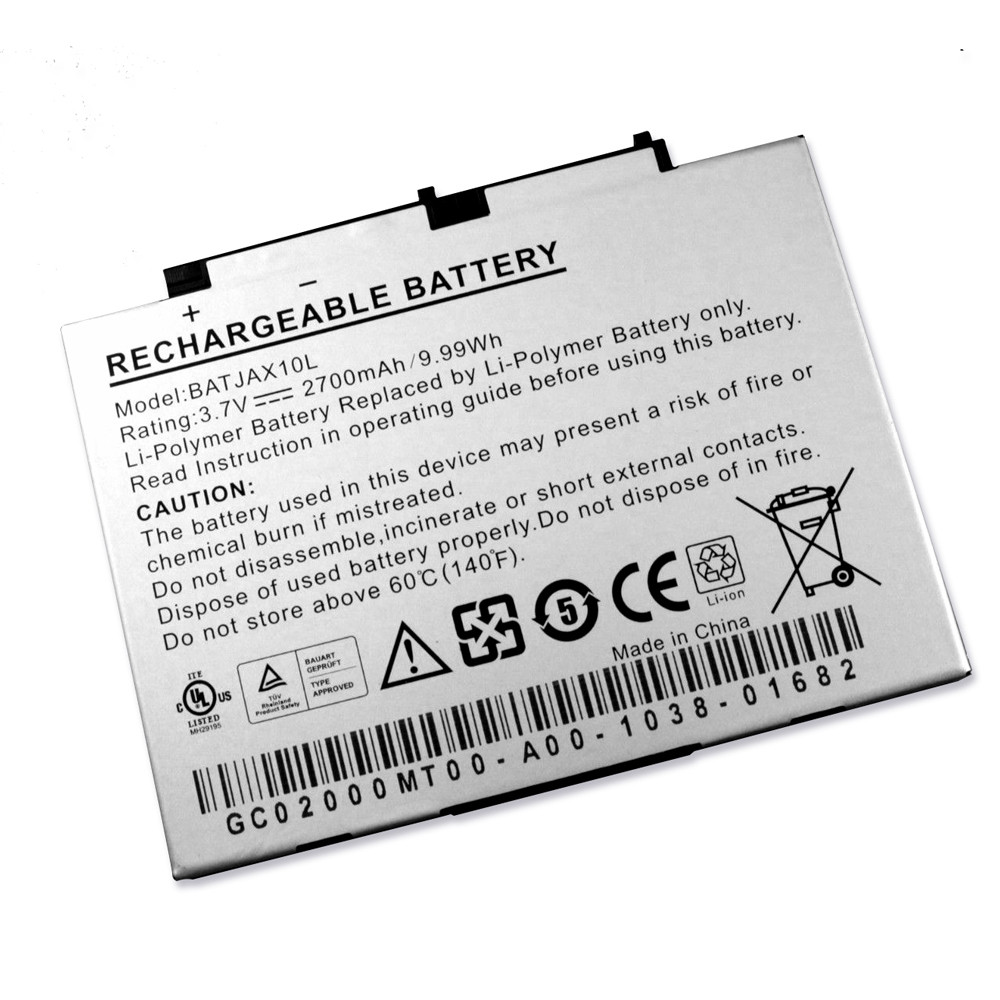2700mAh Aigo MID P8880E P8888 P8880T P8860 Replacement Battery BATJAX10L 3.7V