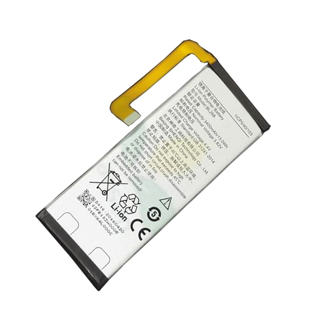 BL268 Battery 3500mah/13.4wh 3.82V Pack for Lenovo ZUK Z2
