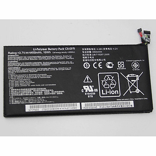 C11-EP71 Battery 4400mAh/16WH 3.7V Pack for Asus Eee Pad MeMo EP71 Tablet N71PNG3