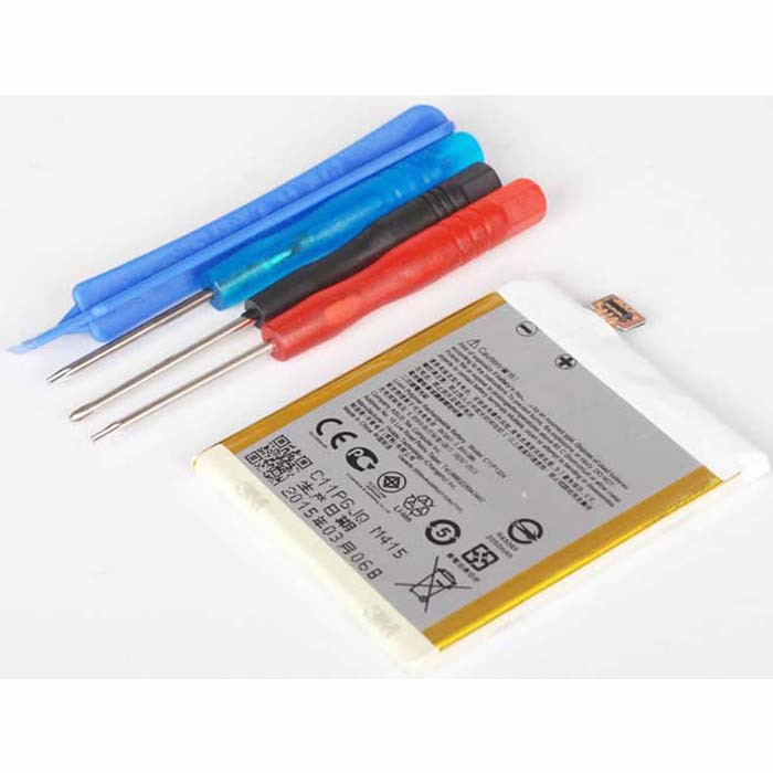 C11P1324 Battery 2050mAh  3.8 DVC Pack for ASUS ZenFone 5 A500KL + Tools