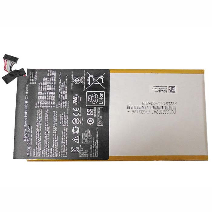 C11P1328 Battery 19Wh/4980mAh 3.7V Pack for ASUS TRANSFORMER PAD TF103C
