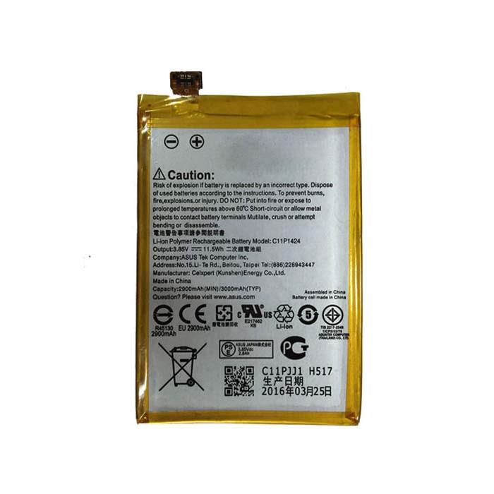 C11P1424 Battery 3000mAh/11.5Wh 3.85V Pack for ASUS ZenFone 2 Zenfone2 ZE551ML ZE550ML
