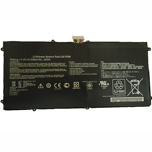 C21-TF301 Battery 21wh 7.4V Pack for ASUS Transformer Pad Infinity TF700T TF700 Table