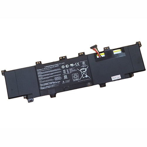 C21-X402 Battery 5136mah/38WH 7.4V (not compatible 11.1V) Pack for ASUS VivoBook S300 S400 S400E Series