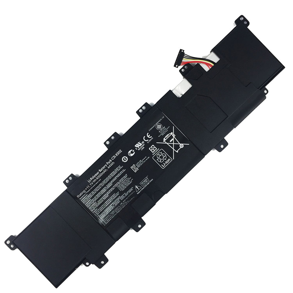 38WH / 5136mAh Asus VivoBook X502 X502C X502CA Series Replacement Battery C21-X502 7.4V