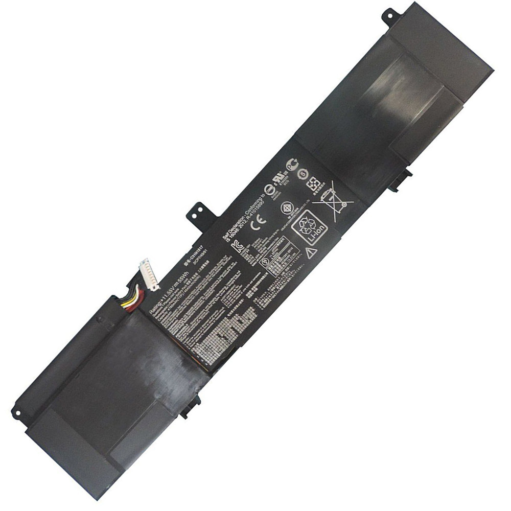 55Wh C31N1517 Battery 4780mAh/55Wh 11.55V Pack for ASUS TP301 TP301UA TP301UJ