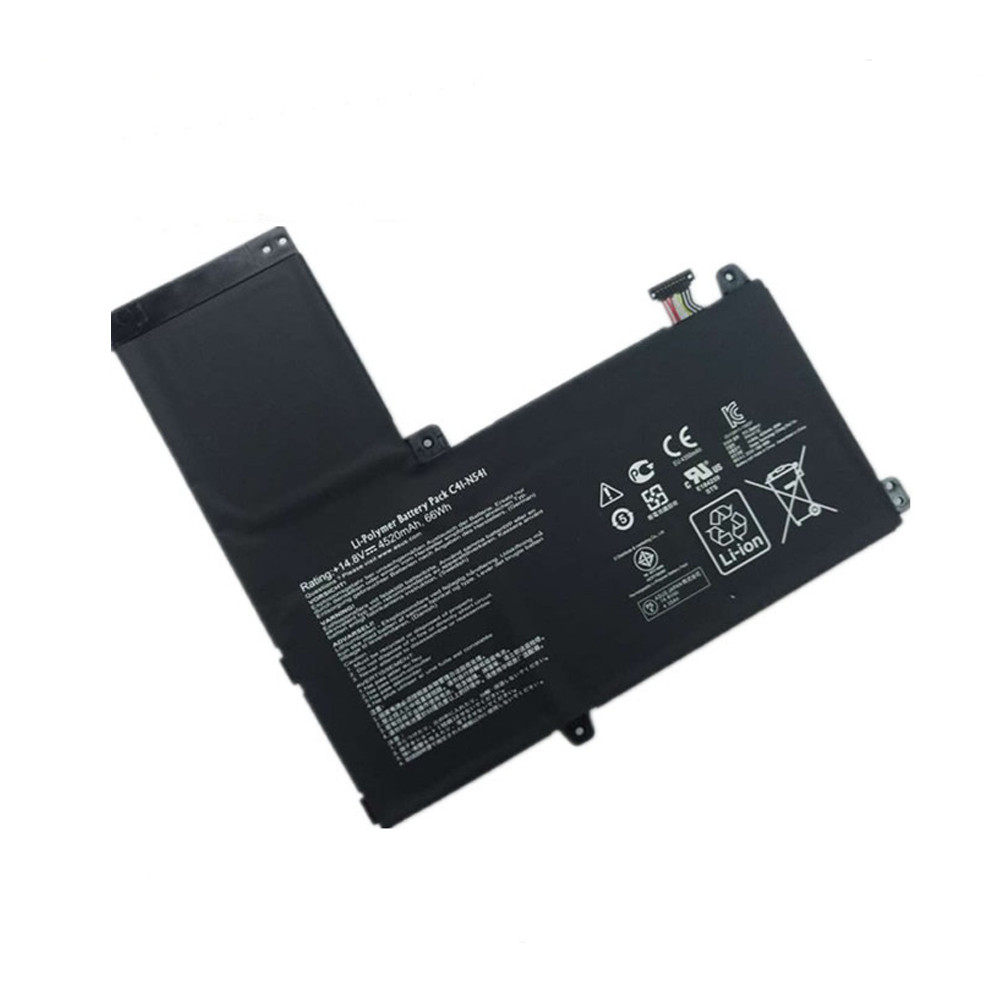 66Wh / 4520mAh Asus Q501L Q501LA Q501LA-BBI5T03 N54PNC3 Replacement Battery C41-N541 14.8V