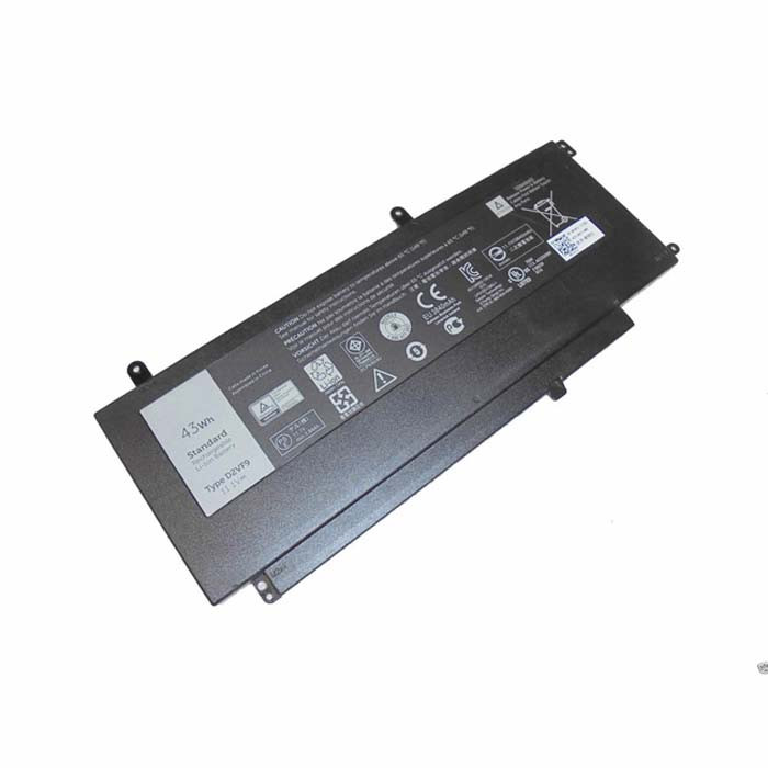 D2VF9 0PXR51 Battery 43Wh 11.1V Pack for Dell Inspiron 15 7547