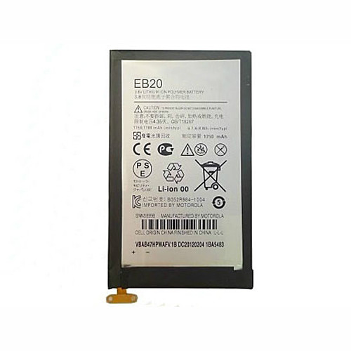 EB20 Battery 1750mAh 3.8V Pack for Motorola Droid Razr XT910 XT912 + Tools