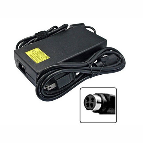 CLEVO FSP220-ABAN1 6-51-X8102-010 9NA2200201   AC Adapter for 220W (EPS2.0) PSE (TUV)19V 11.57A DC O/P 4P FSP (9NA2200201) D900F 19V 11.57A 220W