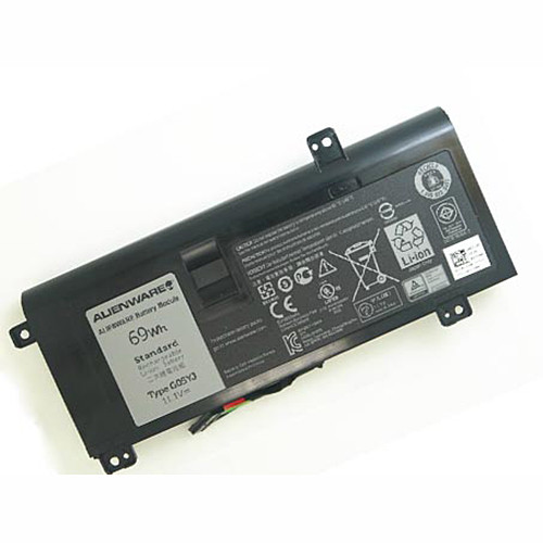 0G05YJ Y3PN0 G05YJ Battery 69Wh 11.1V  Pack for DELL Alienware 14 A14 M14X R3 R4 69Wh