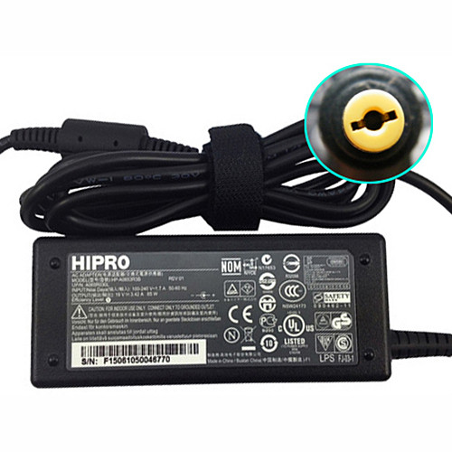 ACER PA-1650-69 AC Adapter for Hipro Acer Aspire V5 S3 E1 Series  19V  3.42A  65W