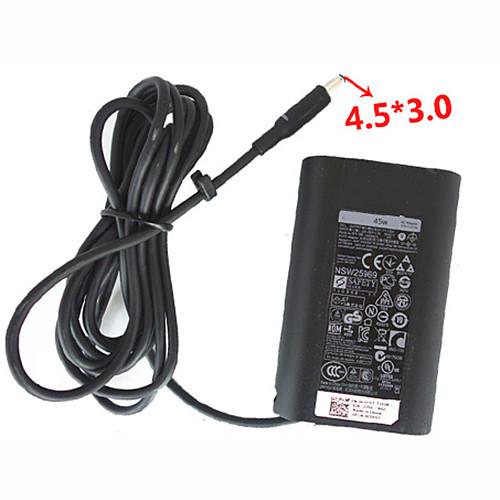 DELL 312-1307 JT9DM AC Adapter for Dell XPS 13 12 11 Inspiron 7437 7348 19.5V 2.31A 19.5V~2.31A    45 Watt
