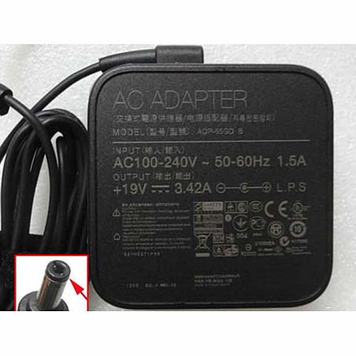 TOSHIBA PA3714U-1ACA  AC Adapter for TOSHIBA SATELLITE C660 L300 L450 19V  3.42A  65W