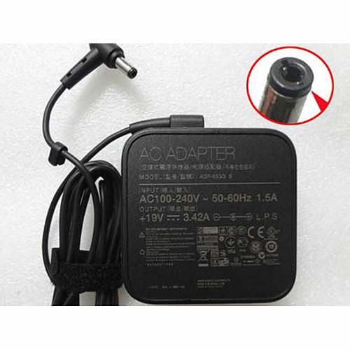 ASUS 19V 3.42A AC Adapter for ASUS A52F X58L A53E N17908 V85 19V  3.42A 65W