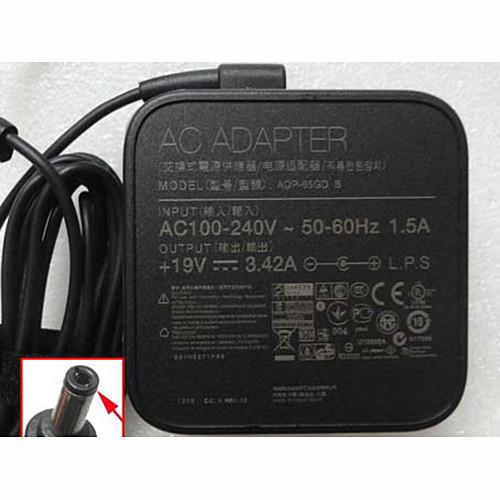 TOSHIBA PA-1650-21 PA3917U-1ACA PA3467U-1ACA PA3714U-1ACA AC Adapter for TOSHIBA Satellite A80 / A85 / L10 / SL15 19V  3.42A  65W