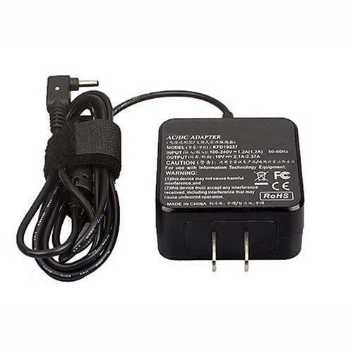 ASUS 45W AC Adapter for Asus VivoBook X102B X102BA X102BA-BH41T X200L X200LA DC 19V 1.75A-2.37A 33W