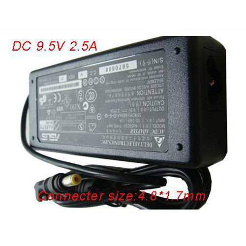 ASUS 9.5V 2.5A 40W AC Adapter for Notebook Charger 4.8*1.7MM 9.5V-2.5A