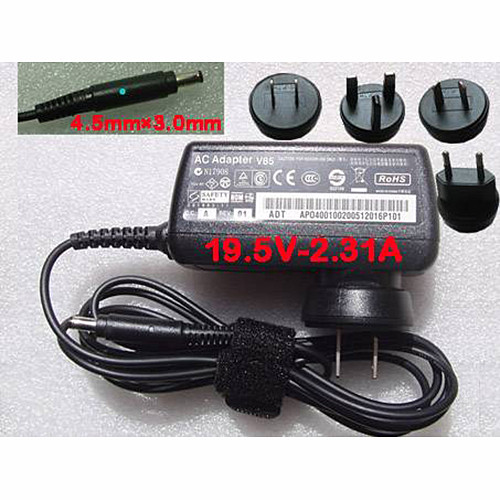 DELL ADAPTER  AC Adapter for 45W AC Adapter Charger for dell XPS 12-L221X Convertible Ultrabook 19.5V-2.31A