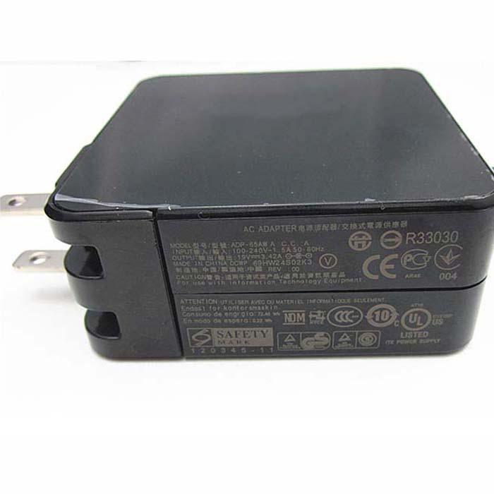 ASUS PA-1650-78 AC Adapter for Asus Zenbook Power 65W UX301L UX303LA/LB/LN UX303UA UX303UB 19V 3.42A 65W