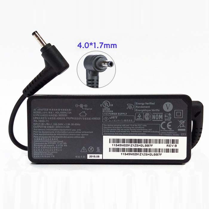 LENOVO 710-14IKB AC Adapter for Lenovo Flex 4 11 14 15 Yoga 710-14IKB 510 B50-10 Ideapad 100 20V 2.25A 45W