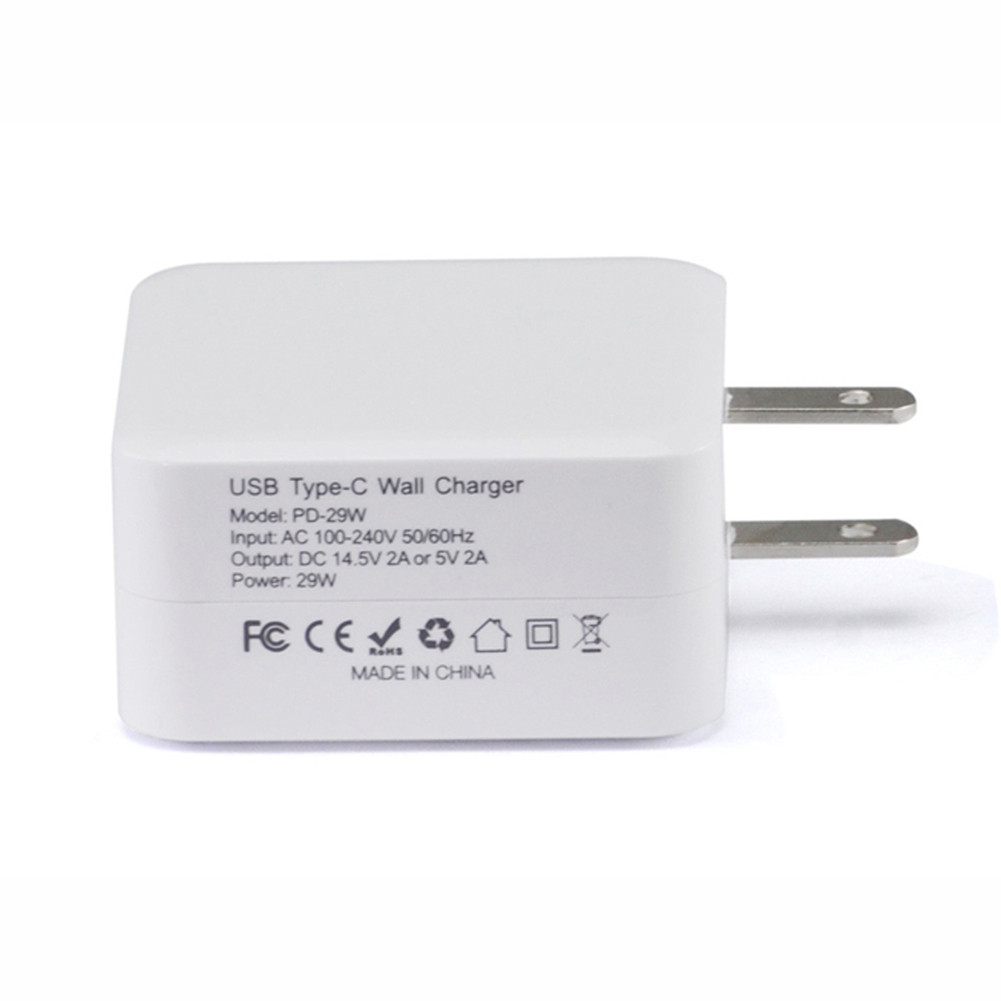 APPLE 29W AC Adapter for Apple Macbook 12 inch 14.5V DC 14.5V 2A or 5V 2A