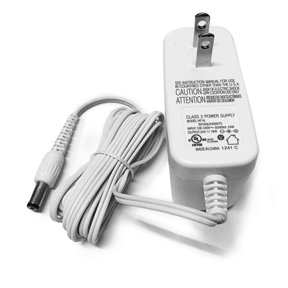 PHILIPS HF12 AC Adapter for Philips HF3520/3485/3480/3471/3470 Wake-Up Light EXCELLENT 24V--18W