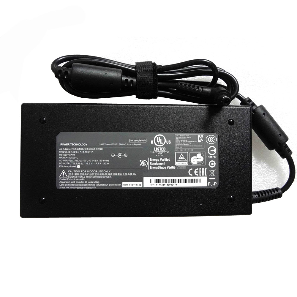 MSI ADP-150VB B AC Adapter for MSI Delta  GS70 2PC(Stealth)-032AU 19.5V   7.7A  150W