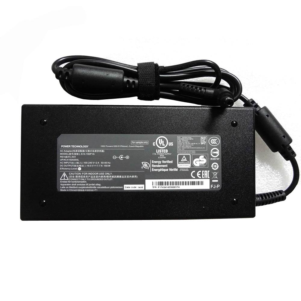 CLEVO  ADP-150VB B AC Adapter for CLEVO Z7M-SL7 D2 Z7M-i78172D1 19.5V   7.7A  150W