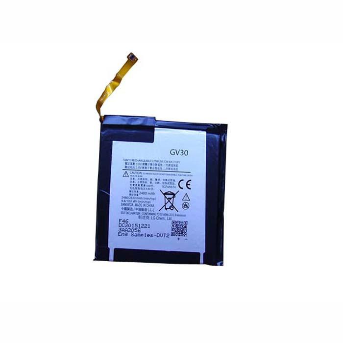 GV30 Battery 2480mAh 3.8V Pack for MOTOROLA Z XT1650-05