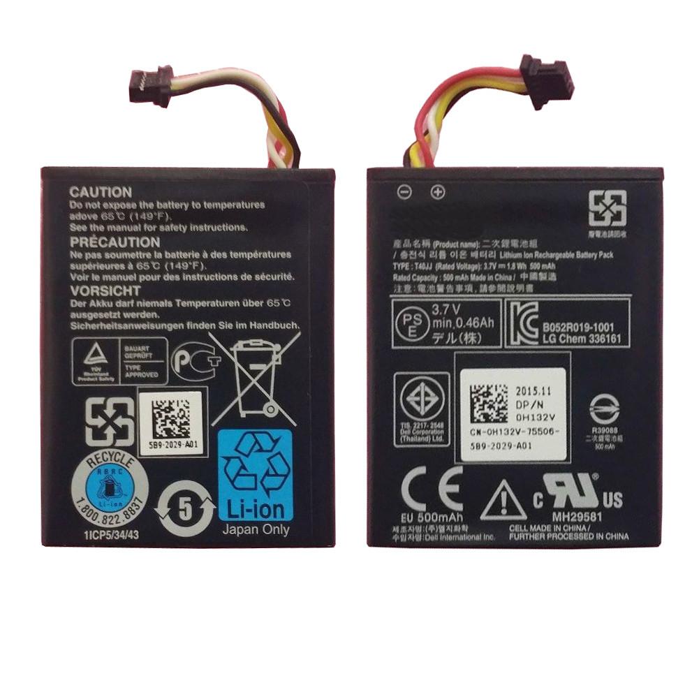 H730 Battery 1.8WH/500MAH 3.7V Pack for DELL POWEREDGE BLADE SERVER