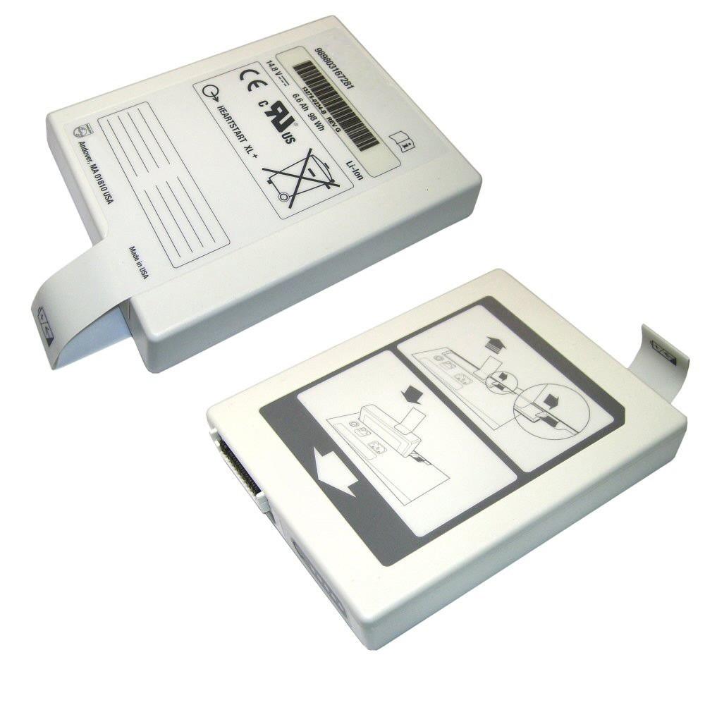 989803167281 Battery 6.5AH 98WH 14.8V Pack for Philips HEARTSTART XL+