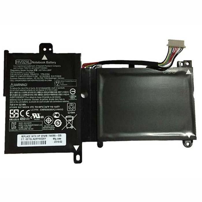 HV02XL Battery 32Wh 7.6V Pack for HP HSTNN-LB6P TPN-Q164 TPN-W112 796219-421