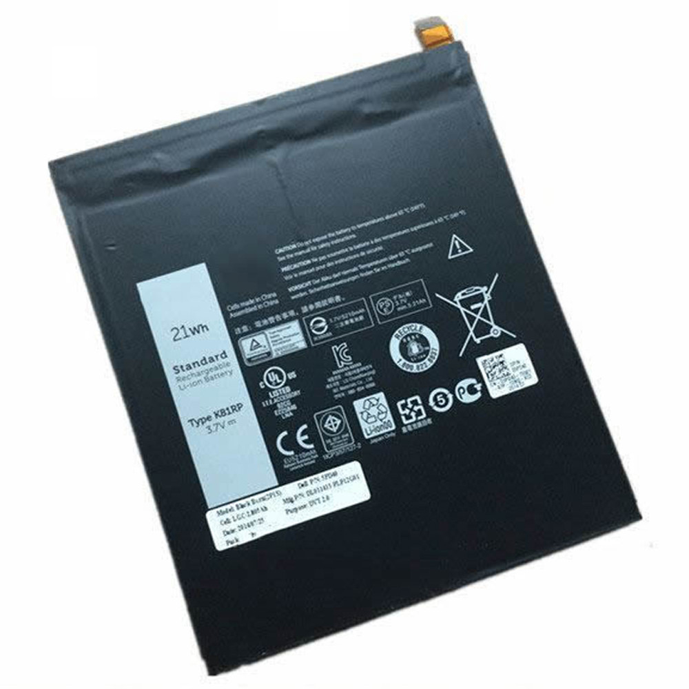 K81RP Battery 21WH 3.7V  Pack for Dell Venue 8 7840 WIFI 16GB venue 8 7000(7840) 5PD40