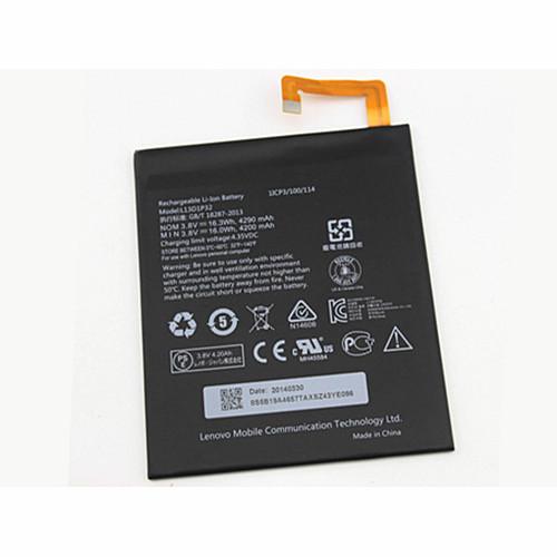 L13D1P32 Battery 16.3WH/4290MAH 3.8V Pack for Lenovo Ideapad A8-50 A5500